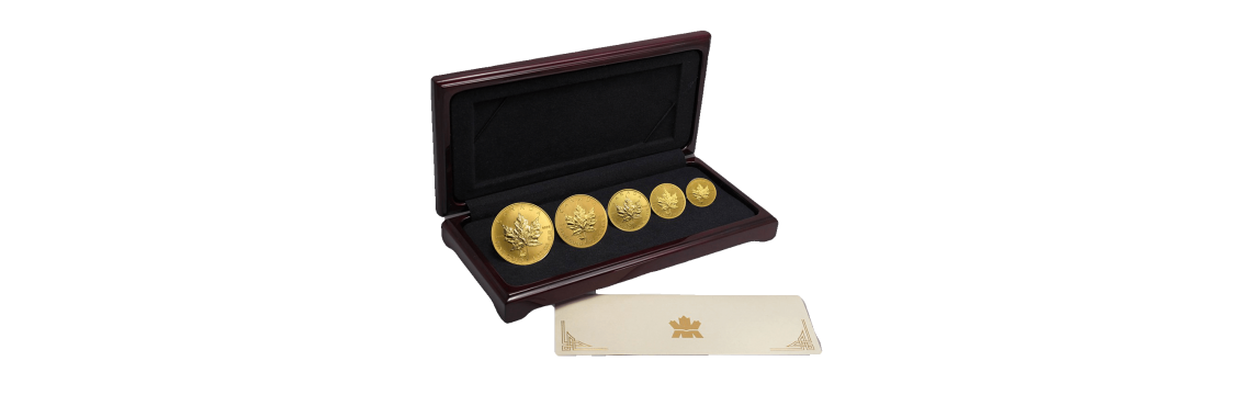 gold-coin-box set